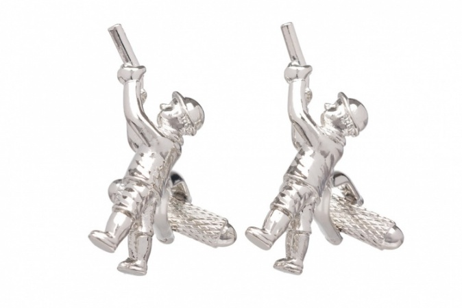 Hunter Shooting Cufflinks